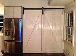 image of new sliding interior barn doors