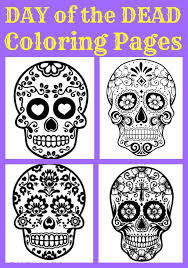 best day of dead ideas day of dead makeup  beautiful day of the dead sugar skull coloring pages for kids and adults great