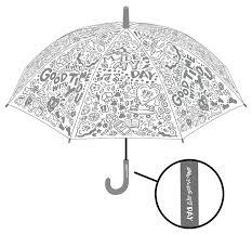 コンビニ傘に愛着をイラストレーターchocomooがデザインしたファミマの