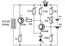 world technical solar charger circuit diagram do it yourself world technical solar charger circuit diagram