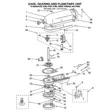 kitchenaid 5 quart k5 parts diagram kitchenaid k5 old style 5 kitchenaid 5 quart k5 parts diagram