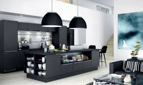 Modern kitchen island Black Black Kitchen Island With Storage Remodel Calculator 10 Modern Kitchen Island Designs