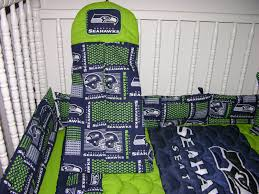 crib bedding set m w seattle seahawks by cutiepatootiebedding