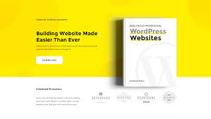 Ebook Template Bright And Bold Landing Page Template To Offer An Ebook