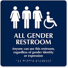 school bathrooms signs. Gender-Neutral Restrooms School Bathrooms Signs
