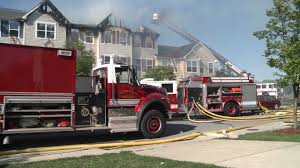 Joint Base Andrews Housing Fire - YouTube