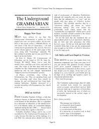 Calameo The Underground Grammarian Volume 03