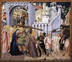 meeting on the way of the cross seven sorrows of mary