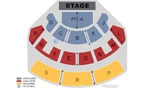 davidson theatre seating chart