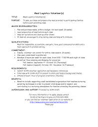 Logistics Job Description Resume Logistics Coordinator Resume Resume Badak 4