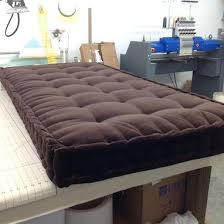 custom bench cushions. Custom Made Hand Tufted Mattress Cushion Window Seat Bench Day Bed Beautiful . Likeable Size Cushions C