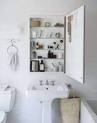 medicine cabinet as vanity