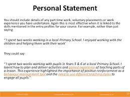 personal statement for voluntary work  i could post my personal statement here am i allowed to do that orshould i pm you it i put loads of volunteer work into my personal online essay