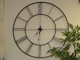 attractive large outdoor clocks in slate mosaic indoor clock 12648