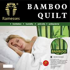 RAMESSES BAMBOO QUILT 400GSM POLYESTER COVER & FILL (BMQ) BEDDING ... & RAMESSES BAMBOO QUILT 400GSM POLYESTER COVER & FILL (BMQ) BEDDING SLEEP  DOONA Adamdwight.com