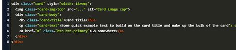 bootstrap text makes card bigger code