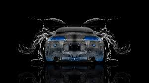 mitsubishi eclipse back water car