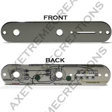 custom telecaster chrome control plate 52 telecaster wiring custom telecaster chrome control plate 52 telecaster wiring diagram on back