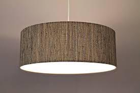 modern large drum pendant lighting