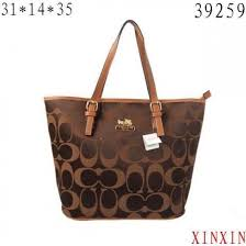 Coach Borough Logo In Signature Large Coffee Totes BQP