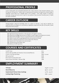 Otr Driver Resume Sample Cdl Truck Driver Resume Samples Business Document 12
