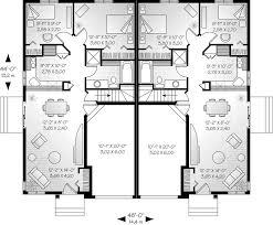 duplex house plans 2 story best of single story multi family house plans small house plan