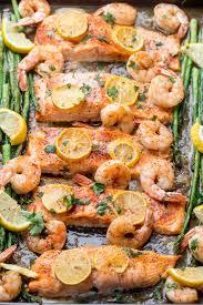 Baked Shrimp Salmon Recipe (VIDEO ...