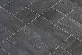 black vinyl flooring