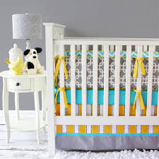 bright baby gray baby bedding  baby bedding boy crib bedding set