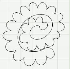 17c83450d3fcae4ee4131a98fe7ba378 25 best ideas about felt flowers patterns on pinterest felt on spiral pattern template