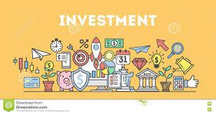 Investment Concept Illustration Stock Vector Illustration