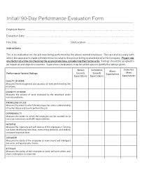 performance feedback form employee job interview evaluation form in free performance staff