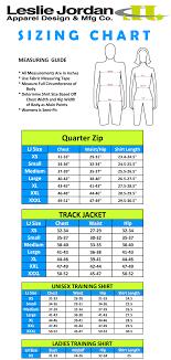Size Charts Leslie Jordan Grandmas Marathon