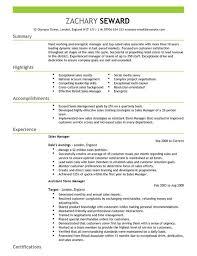 Resume For Project Manager Musiccityspiritsandcocktail Com