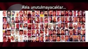 15 temmuz şehitleri hatırası şehitler ölmez Vatan bölünmez - YouTube