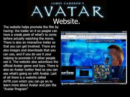 avatar powerpoint <br > 7 website