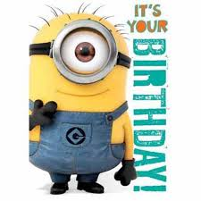 Buy Official Despicable Me Minions Birthday Card With Recorded
