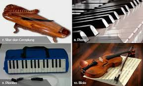 Secara karakteristik, semua alat musik harmonis dapat juga berfungsi sebagai alat musik melodis. Lengkap 10 Contoh Alat Musik Harmonis Beserta Gambarnya Cinta Indonesia