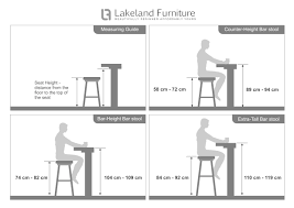 standard bar counter height. Bar Stool Size Guide What Height And Width Should It Be In Standard Counter