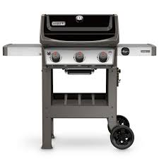 weber spirit ii e 310 3 burner propane gas grill in black