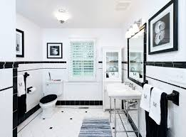 classic white bathroom ideas. Classic Black And White Bathroom Renovation Design Ideas
