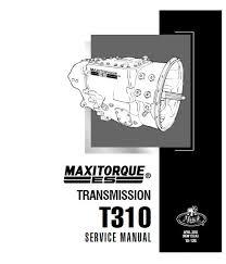 Mack Gear Ratio Chart Mack Maxitorque Es Transmissions T310 Service Manual