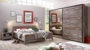 Schlafzimmer Montez Moon 1 Komplett Set Driftwood Bronze Spiegel 4