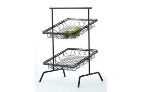 surpahs 2 tier countertop fruit basket stand square get enterprises