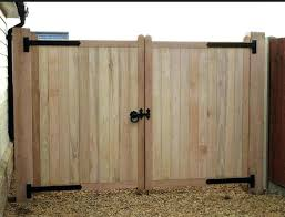 wood gate designs fence double design door wooden interior home decor for rooms