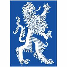 Postkarte Bayerischer Löwe