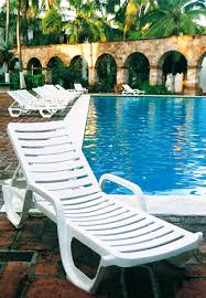 pool lounge chairs. Model 44031004 | Bahia Chaise Lounge Chair (White) Pool Chairs H