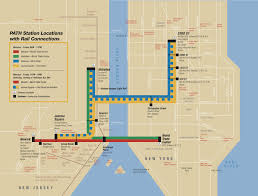 map of nyc commuter rail stations  lines