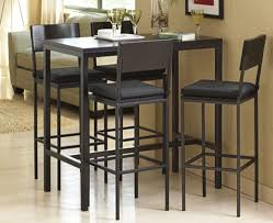 attractive tall breakfast table set high sets of 4 dining