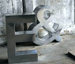 large initial wall hangings large initial wall decor industrial letters  large metal letters wall decor large